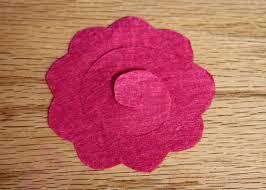 felt flower headband felt flower headband and hair clip