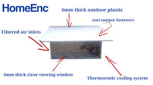 residential backyard projector enclosure proenc