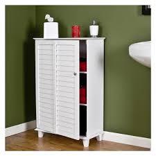 bathroom design storage cabinets floor white bathroom