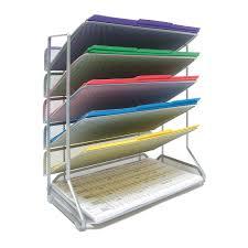 Desk Mail Organizer by Seville Classics 6 Tier Mesh Desk Wall Organizer Legal Size