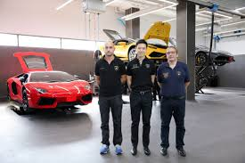 lamborghini dealership niche cars group operates lamborghini service week by senior