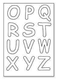 printable letters cut out letters to print and cut out 6a cut out letters downloads