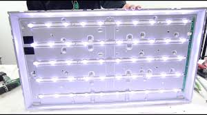 replacing led lights in tv led tv backlighting repair options no picture blank screen