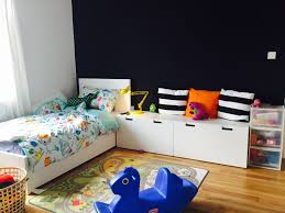 Ikea Duisburg Schlafzimmer Children U0027s Room Ikea Malm Bed With Stuva Storage Benches Stuva