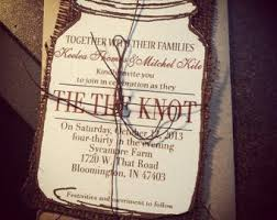 Mason Jar Wedding Programs 20 Rustic Wedding Invitations Ideas Rustic Wedding Invites