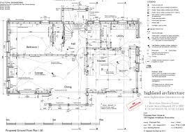 South Facing House Floor Plans by New Build Highland Architecture
