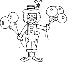 fresh clown coloring pages 14 with additional gallery coloring