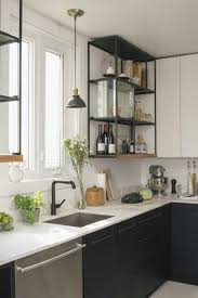 Pull Down Kitchen Cabinets Design Diy Kitchen Renovation Rectangle White Solid Glossy