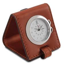 Travel Clock images Pineider power elegance leather travel alarm clock jpg