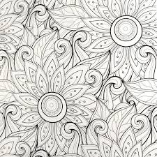 coloring book loves coloring flowers efizzle
