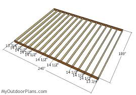 16x20 shed plans myoutdoorplans free woodworking plans and