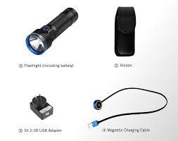olight r50 pro 1 x 26650 3200 lumen cree xhp70 cw led flashlight