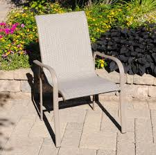 backyard creations grant park dining patio chair at menards
