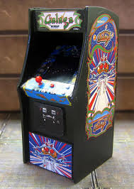 Galaga Arcade Cabinet Amazingly Detailed Mini Arcade Cabinets Perfect For Barbie U0027s Dream