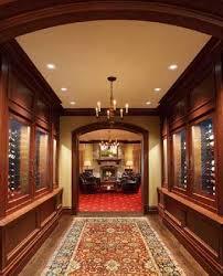 wine cabinets or a wine cellar