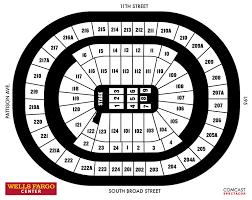 wells fargo center floor plan seating charts wells fargo center