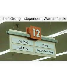 Single Woman Meme - the strong independent woman aisle imgur