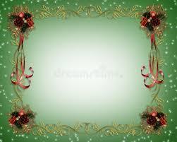 fancy christmas christmas frame fancy border royalty free stock photos image