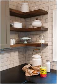 kitchen gorgeous kitchen counter corner shelves 10 clever