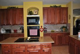 Espresso Cabinets With Black Appliances Kitchen Cute Kitchen Yellow Walls Dark Cabinets Espresso And
