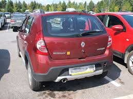 renault dacia 2015 photo collection dacia sandero stepway rear