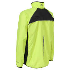 hi vis cycling jacket windbloc men u0027s hi vis running jacket trespass uk