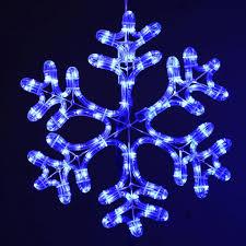 led snowflake outdoor lights strings laser