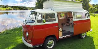 volkswagen hippie van hire a campervan or motorhome in the uk or europe