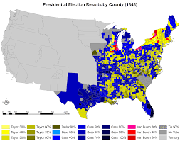 Election Of 1860 Map by 1860 Us Presidential Election Of 1860 By County 1820 1860