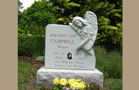 how much does a headstone cost angel monuments angel grave marker pictures prices