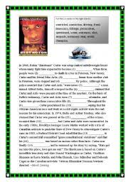 worksheet hurricane carter movie review