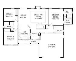 ranch home plans with basements floor plan for a house simple floor plans basement open house basic