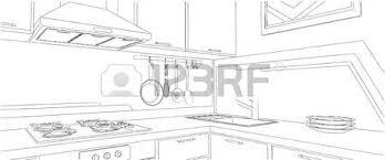dessin evier cuisine gros plan d un coin cuisine violet et marron avec un évier et un