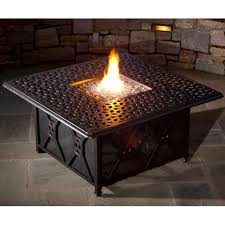 furniture charming round black metal black granite tops fire