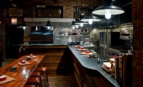 Restaurant Kitchen Table by Private Parties Frontier