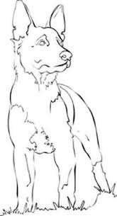 free printable dogs and puppies coloring pages for kids german