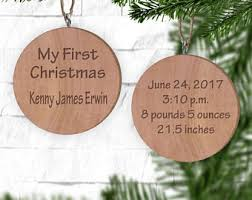 Blank Ornaments To Personalize Personalized Wood Ornament Gift Tag Christmas 2017 Ornament
