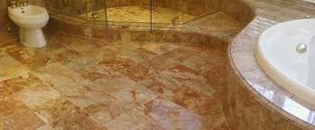 how to clean a marble floor in the bathroom erie construction