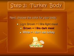 turkey glyph thanksgiving project