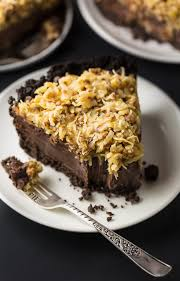 no bake german chocolate pie with oreo cookie crust