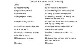 pros and cons of renting a house the pros and cons of owning your own home dummies