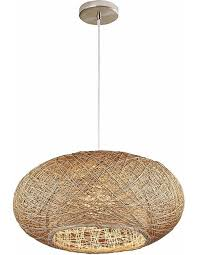 Wicker Pendant Light Bordo Wicker Pendant Light Chic Chandeliers