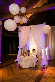 wedding arch used canopy used as groom sweetheart table backdrop wedding