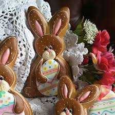 Decorated Easter Bunny Cookies by 983 Best Easter Cookies Images On Pinterest Easter Cookies