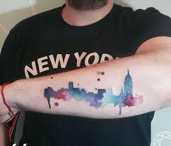 magnificent skyline tattoos