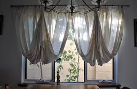 diy retro kitchen curtains the new way home decor