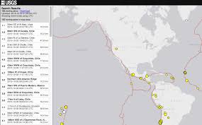 Usgs Real Time Earthquake Map How And Why To Use A Spreadsheet To Turn A Beautiful Interactive