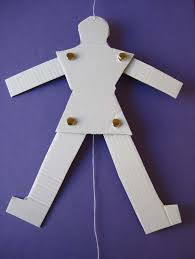 string puppet how to make a jumping puppet from cardboard and string