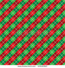 christmas plaid wrapping paper seamless christmas wrapping paper pattern stock vector 529162663