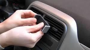porta iphone da auto supporto auto bocchettoni prese originale belkin 3614cs